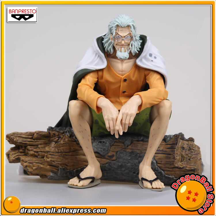 Japan Anime One Piece Original Banpresto Creator x Creator Collection Figure Silvers Rayleigh