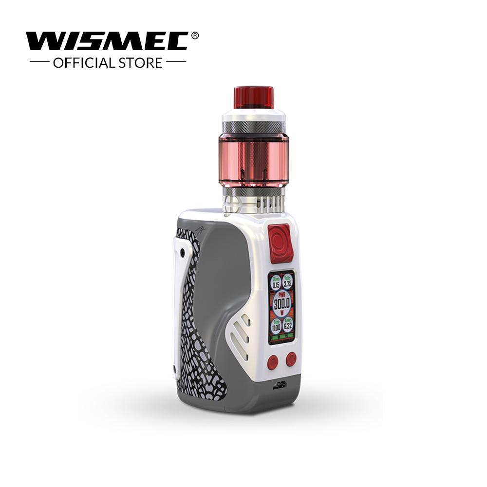 Original Wismec REULEAUX TINKER 300W with COLUMN tank 2ml/6.5ml powered by triple 18650 batteries Electronic cigarette vape kit