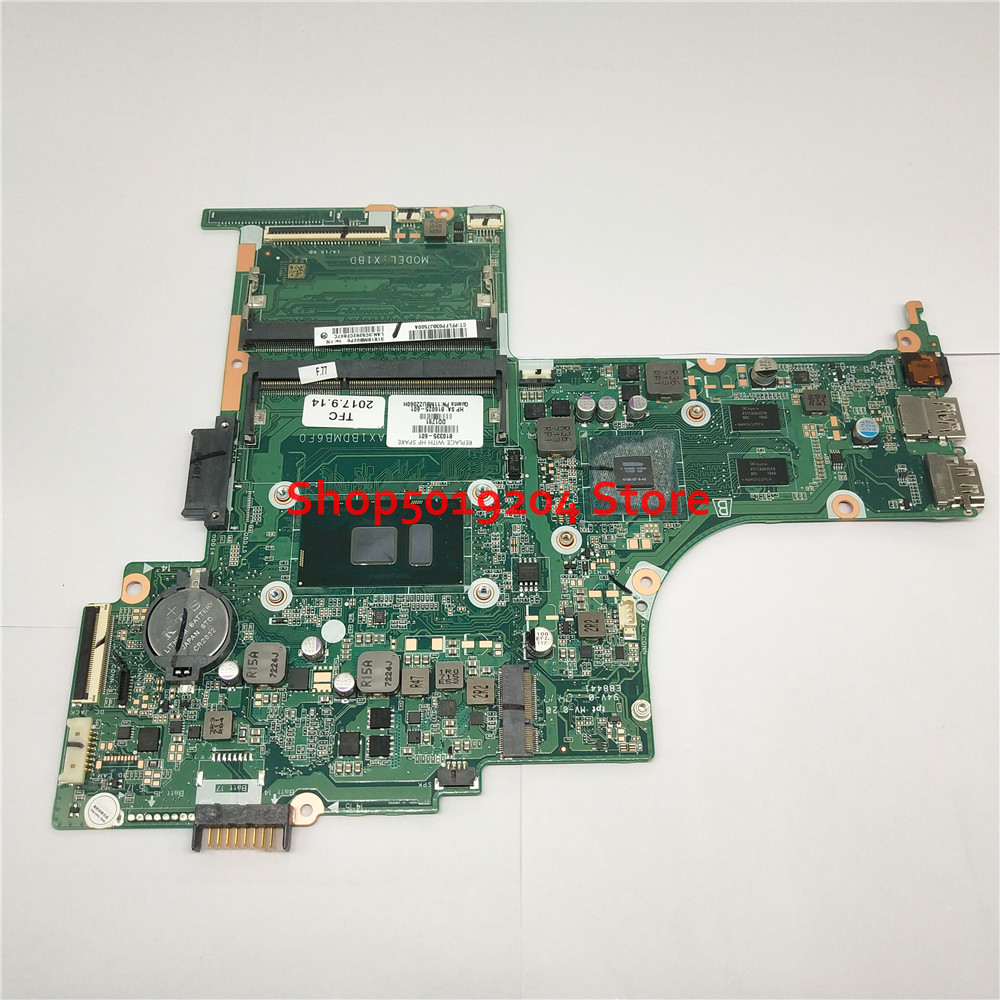Mainboard 810335-601 816025-601 for <font><b>HP</b></font> Pavilion 15-AB 15-AN 15-AN098NR <font><b>15AB</b></font> laptop motherboard I7-6500u 810335-001 81033 image