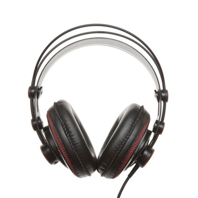 Original Superlux HD681 Fones de Ouvido Jack de 3.5mm Com Headband Ajustável Cabo 9ft Confortável full-size Em Torno Da Orelha Moda