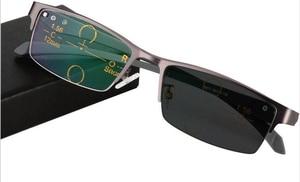 Image 5 - Óculos de leitura multifocal wearkaper, pernas flexíveis, armação metade para presbiopia