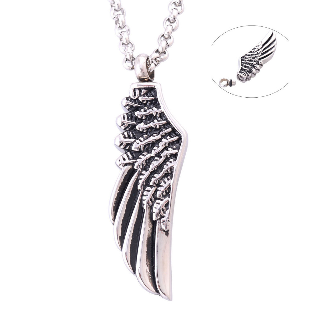 Angel's Wing Urn Necklace