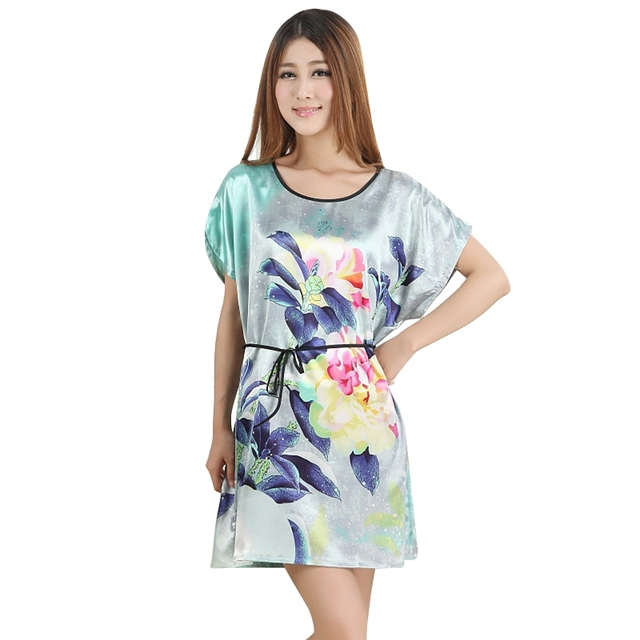 Sexy Fashion Women Sleepwear Robes Nightwear Shirt
