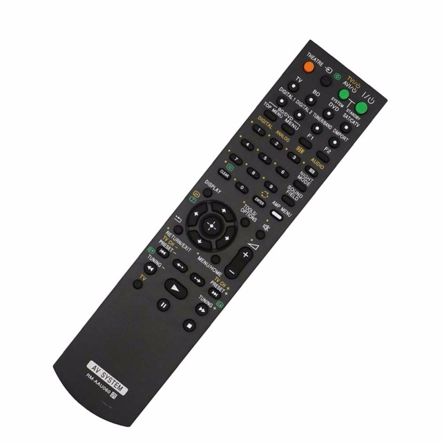 New RM AAU060 Remote Control for SONY Home Theatre System SA WFS3 HT SS360 STR KS360