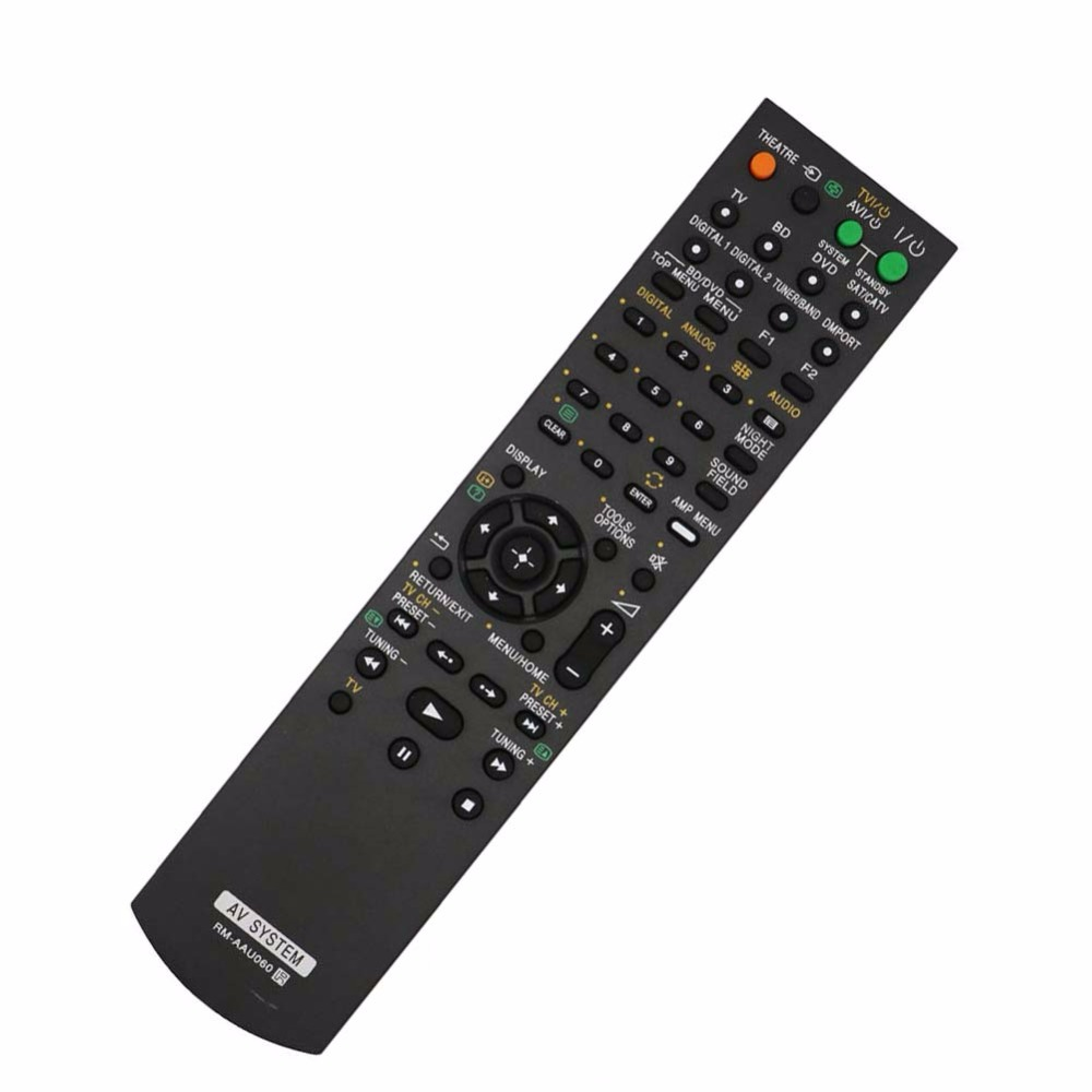 New RM-AAU060 Remote Control for SONY Home Theatre System SA-WFS3 HT-SS360 STR-KS360