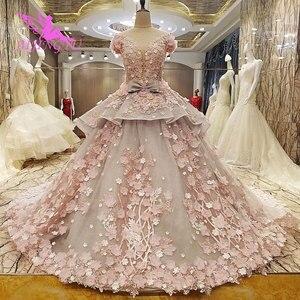 Image 3 - Aijingyu Isreal Gown Vrouwelijke Op Party Lange Trein 2021 2020 Wit Mooie Trouwjurken Voor Oudere Bruiden