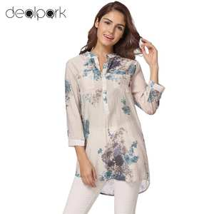 ae157791203a1 ANSELF Summer Long Shirt womens tops and blouses Ladies