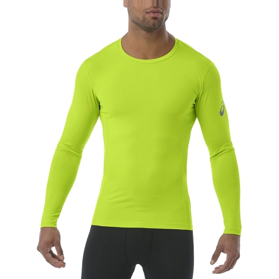 Long Sleeve T shirt men ASICS LS BASE TOP plus size kangaroo pocket long sleeve ombre t shirt