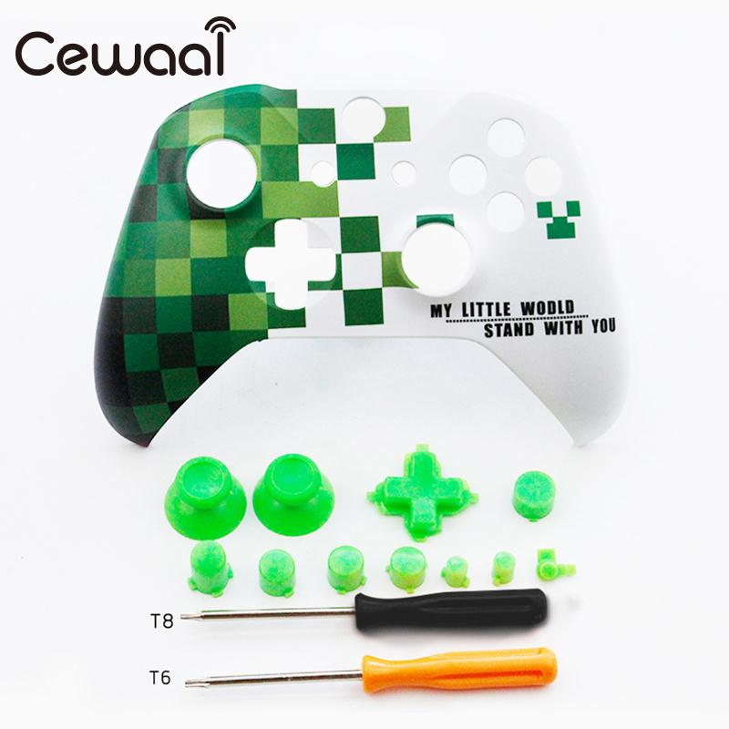 Cewaal Top Cover ABS Face Plate Chromatic Consoles Video Game Accessories Durable Handle Shell