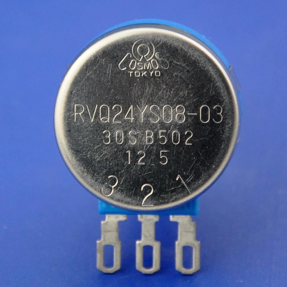 RVQ24YS08-03 30S B502 Potentiometer 5k OHM, for Mobility Scooter, Original.