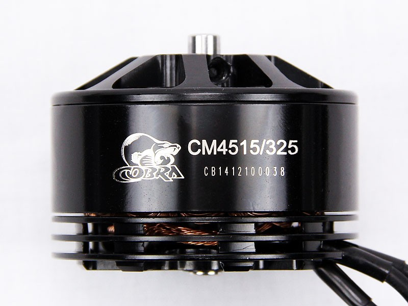 Cobra Motor CM4515-325, Kv=325, For Professional UAV, Drone, and Multirotor, Free Shipping