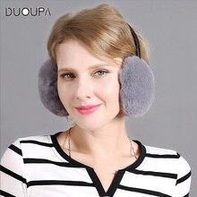 дешево!  Новый Rex Кролик Ушная Защита для Женщин Зимнее Утепление Ушной Крышки Мода Прекрасный Ухо Сумка  Лучш