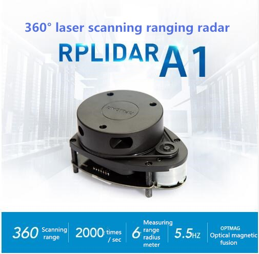 US $189 0 |RPLIDAR A1 (improved version) 360 degree laser radar scanning  distance 6 meters winder-in Parts & Accessories from Toys & Hobbies on