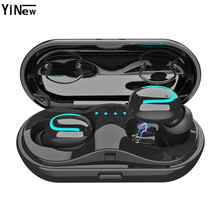 Q13S TWS Bluetooth 5.0 Headset Mini Twins Wireless Stereo Earphone In-Ear Earbud Charging Box with Mic for Smartphone pk i10 tws azexi new style true wireless bluetooth earphone mini twins in ear stereo tws with charging box for samsung apple huawei xiaomi