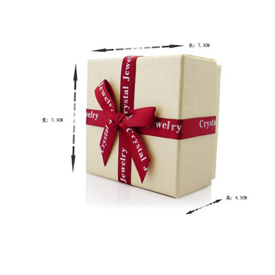 Fashion Jewelry Packaging & Display boxes gift boxes 2 colours