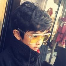 KOTTDO fashion sunglasses square glasses frame children outdoor sunglasses UV400 baby