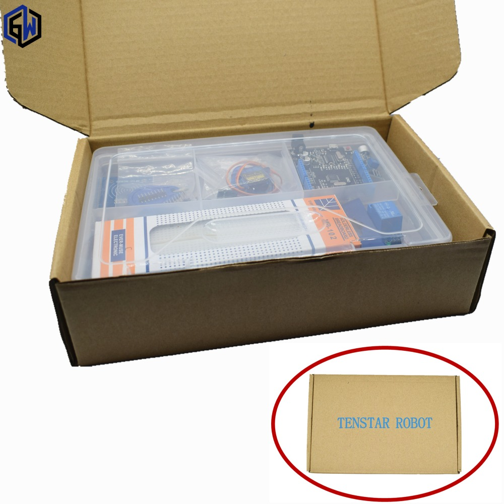 UNO R3 KIT Upgraded version of the Starter Kit the RFID learn Suite LCD 1602/RC522/sg90 servo  With Retail Box arduino kit