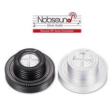 Nobsound Hi End Hi Fi Vinil LP Disco Estabilizador 50/60 hz Tacômetro Registro Peso Turntable Nível de Bolha