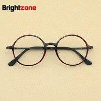 2016 New Korean Fashion Men Nerd Tungsten Vintage Round Eyeglasses Women Retro Geek Plastic Steel Optical