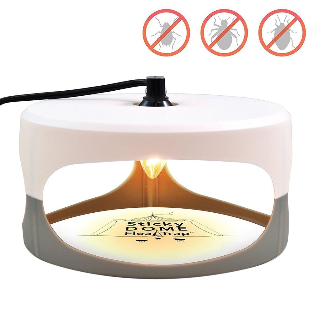 Flea Killer Lampada Della Luce di Controllo Dei Parassiti Trappola Inodore Non tossico Per Animale Domestico A Casa CLH @ 8