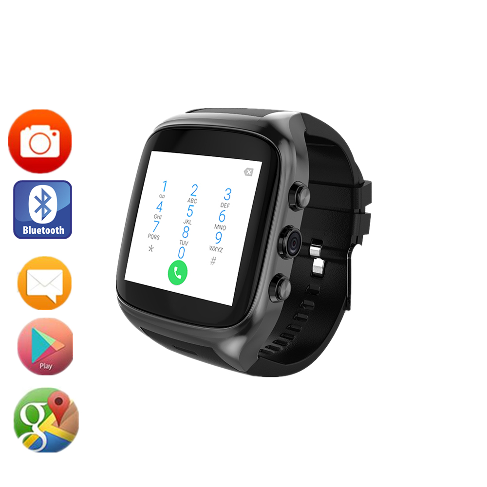 x01 upgrade x02 MTK6580 Android 5 1 Smartwatch Bluetooth4 0