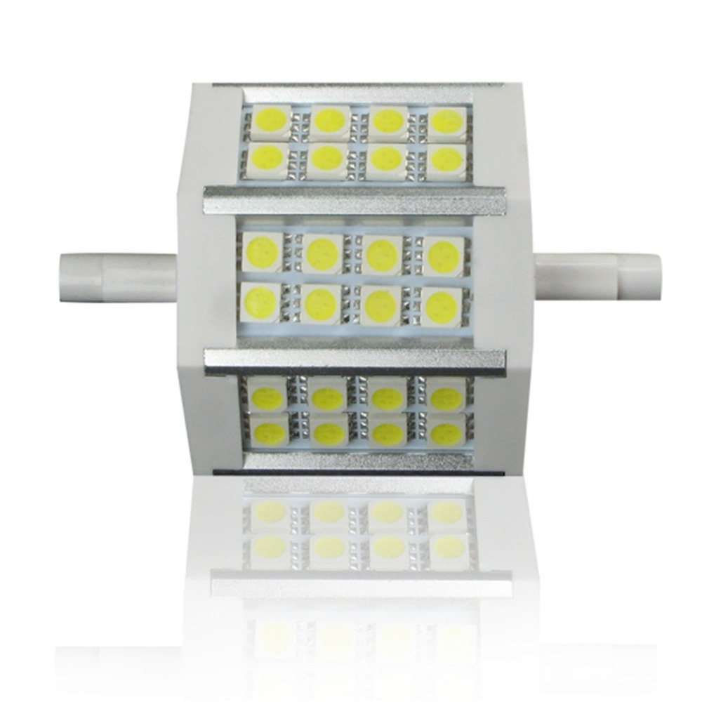ICOCO R7s 5W 24 SMD5050 78/118mm Dimmable Light Bulb Floodlight Warm New