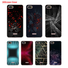 Silicone Phone Case Abstract form for Xiaomi Redmi S2 Note 4 4X 5 5Pro 5A Plus 6 6A 7 Pro Cover