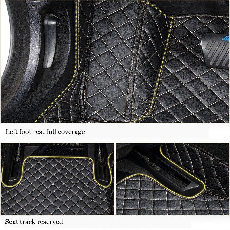 kalaisike Custom car floor mats for Mercedes Benz All Models A160 180 B200 c200 c300 E class GLA GLE S500 GLK car accessories