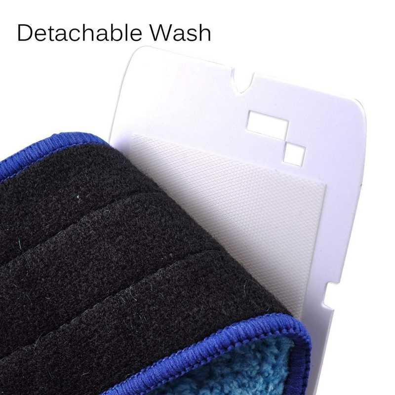 3 шт. Моющиеся Прокладки для уборки Салфетка для уборки ткань запасные части для салфетки для робота-пылесоса iRobot Braava Jet 240 241 чистящие роботы аксессуары