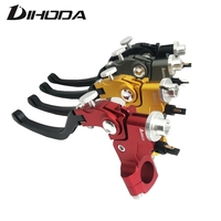 Adelin 4 color Quality CNC 22mm universal motorcycle left Rope Pulling Line Cable clutch levers For Honda Yamaha Kawasaki Suzuki