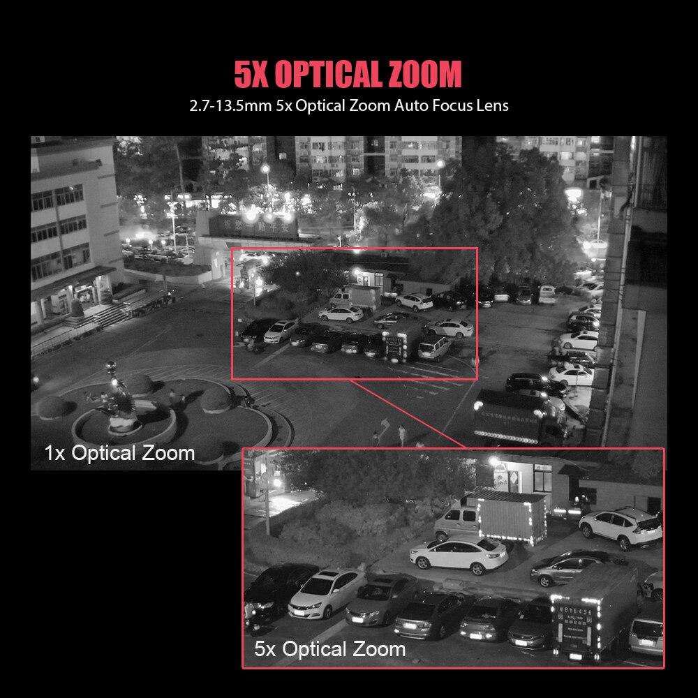 Super Mini 2.5 Pouces PTZ Vitesse Dôme WIFI IP Caméra 1080 P En Plein Air 5X Zoom/4mm lentille fixe caméra sans fil IR 60 m Deux Voies Audio - 5