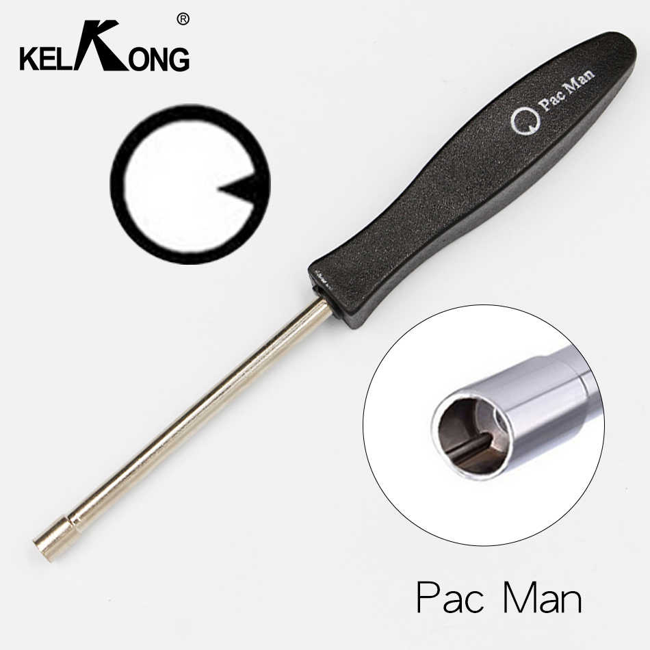 "KELKONG Nieuwe Ontwerp Carburateur Aanpassing Tool Set Kit Carburateur ""Pac man"" Service Tool voor Poulan Echo Homelite Rep308535003"