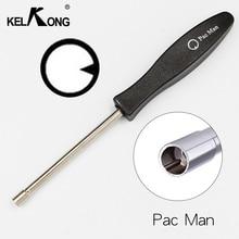"KELKONG New Design Carburetor Adjustment Tool Set Kit Carburetor""Pac man"" Service Tool for Poulan Echo Homelite Rep308535003"