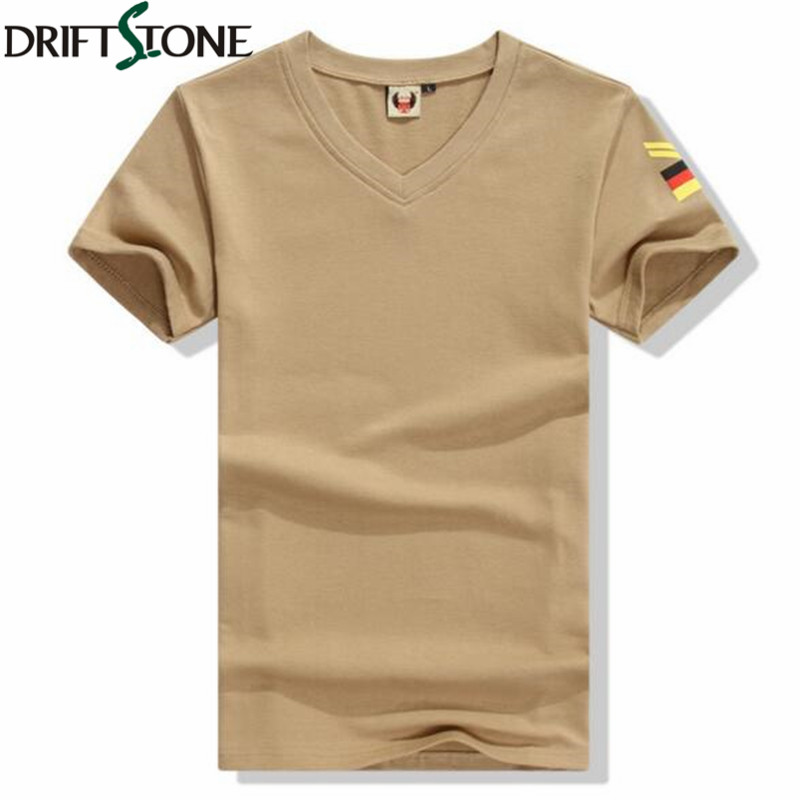 3eeb535bb0a US $15.56 11% OFF|Men Military Short Sleeve tshirts Men's Filed Lived brand  T Shirt 100% Cotton Casual T Shirts Black Army Green Man T shirt-in ...