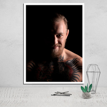 Conor Mcgregor Canvas painting posters and print art prints photo canvas best giclee printer giclee cuadros artwork oil painting худи print bar king conor