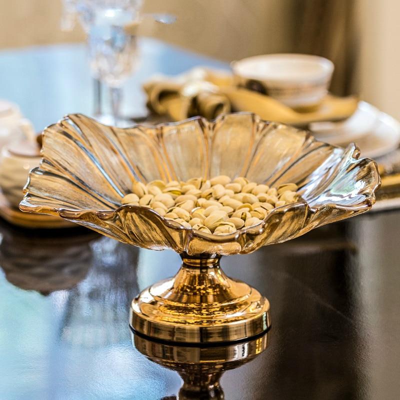 Home Decoration Accessories Fruit Tray Creative European Modern