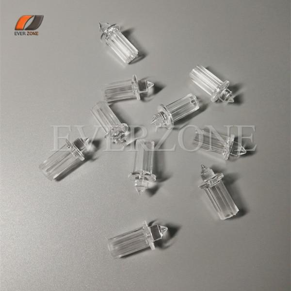 FYEP-32 plafonniers optiques en plastique de Fiber 50 pcs garnitures optiques d'extrémité de lumière de Fiber de décor avec le Plugger fixe de 0.75mm/1.0mm/1.5mm