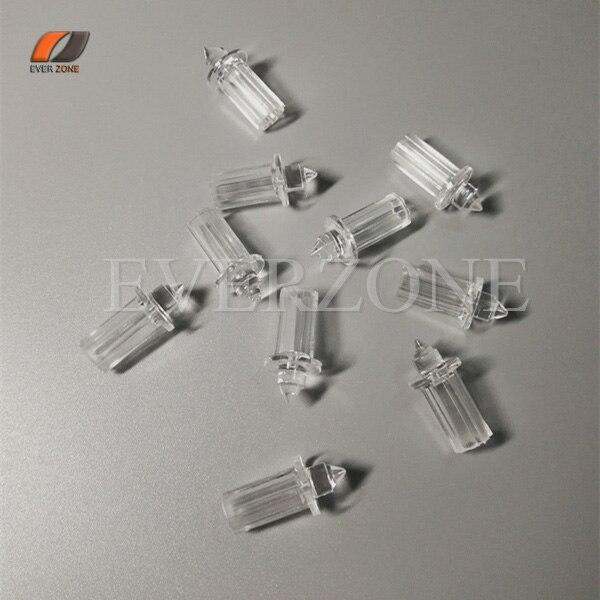 8158e3e5f Óptica de plástico Fibra techo en luces 50 unids decoración Fibra óptica  fittings con 0.75mm/1.0mm /1.5mm fixed Plugger