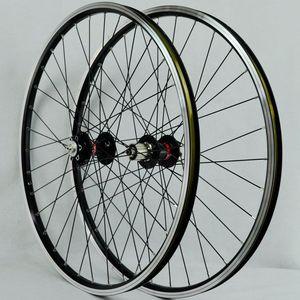 Image 2 - MTB Laufradsatz 26 Räder Mit Novatec Naben Vier Lager Joytech 041/042 32 löcher Mountainbike Rad Für 7 8  9 10 geschwindigkeit Kassette