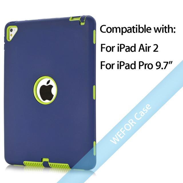 Navy Blue and Green Ipad pro cover 5c649ed9e3623