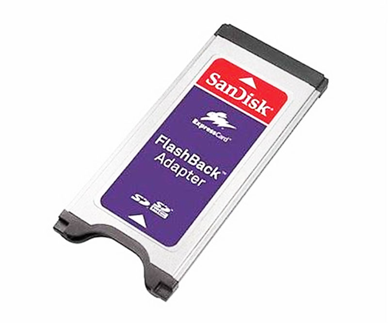 SanDisk FlashBack SD Adapter Reader For SDHC SD Memory Express Card New SDAD-111