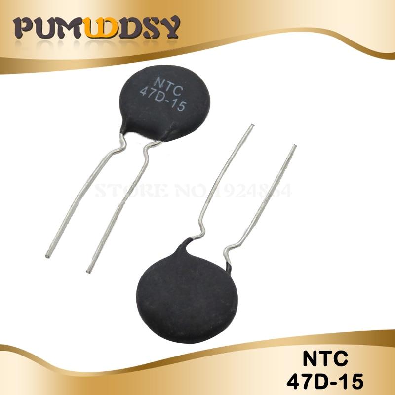 10pcs NTC Thermistor Resistor NTC 47D-15 Thermal Resistor