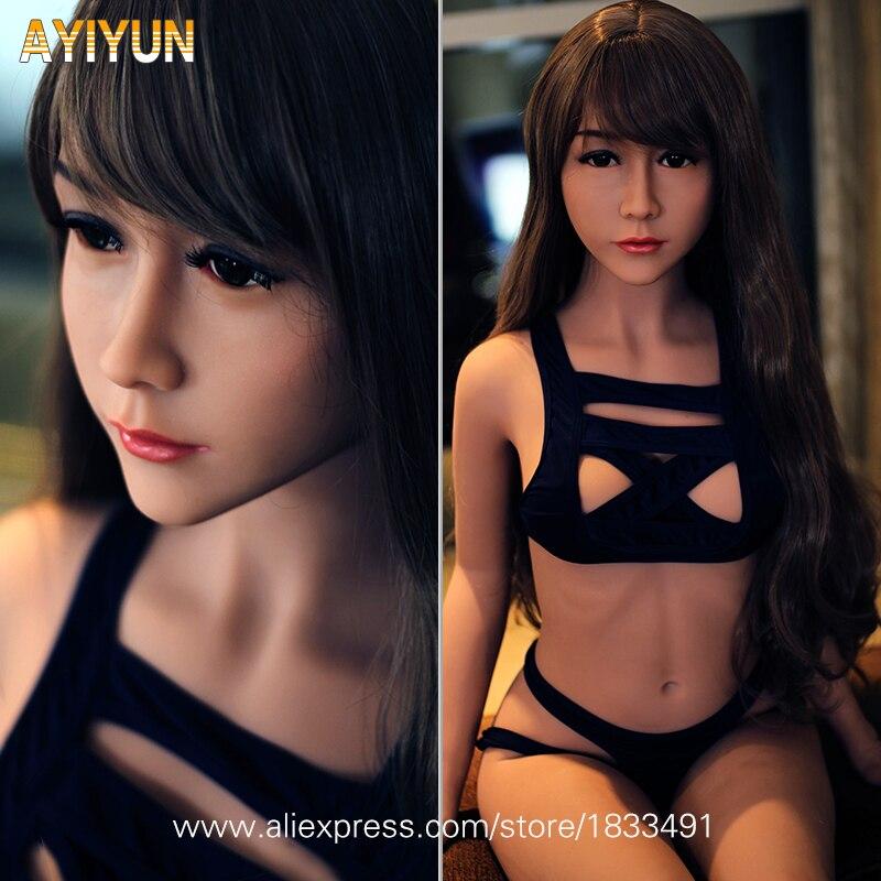 AYIYUN Vie Taille Style Japonais Réaliste Poupée de Sexe de Silicone Jouets Pour Adultes pour Les Hommes Aiment Poupée Médicale TPE avec Squelette PAS odeur