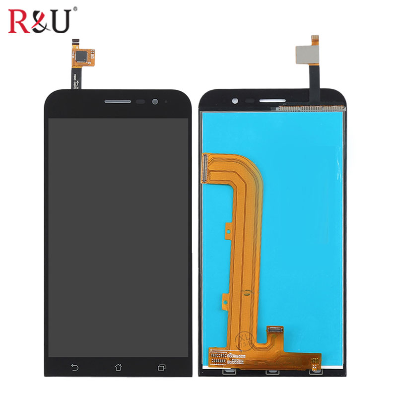 high quality 1280*720 5 inch LCD Display with Touch Screen panel Digitizer Assembly replacement For Asus Zenfone Go ZB500KL tested repair part 5 inch for asus zenfone 5 lcd a500cg a501cg full display screen with touch digitizer 1 pcs free shipping