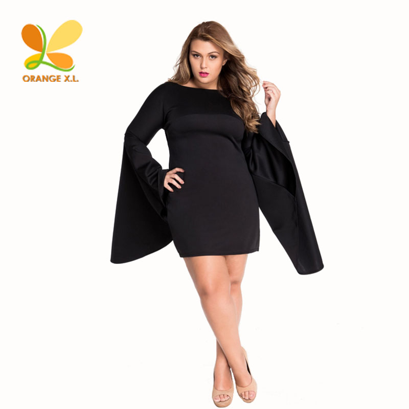 Online Buy Wholesale plain black dress from China plain black ...