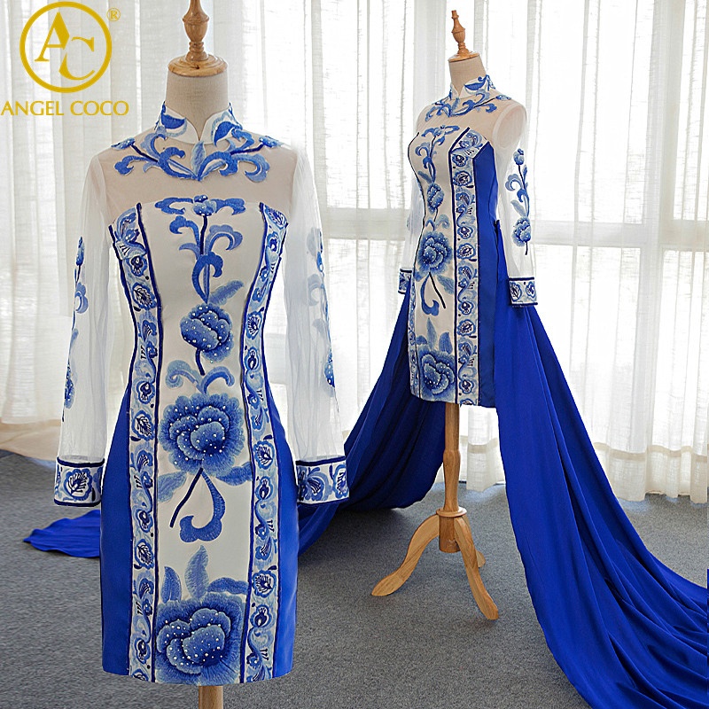 Traditional evening dress