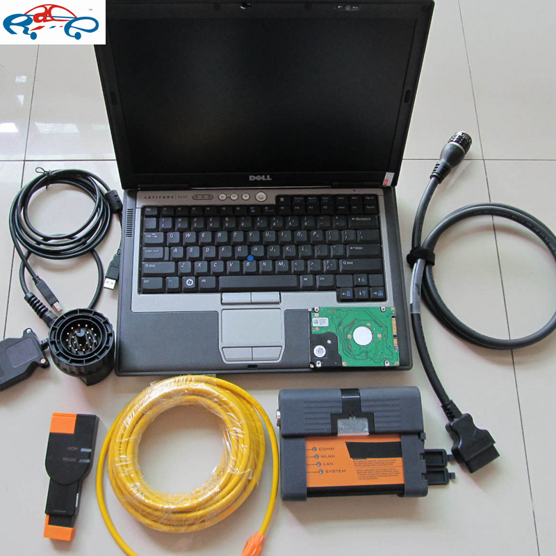 For BMW ICOM A2 B C + D630 Laptop + HDD Full Set ISTA 2018.09 For BMW ICOM A2 Diagnostic Tool multi language ready use