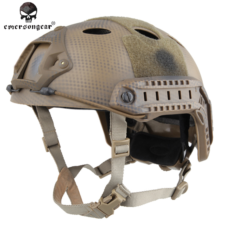 ФОТО Emersongear FAST Helmet  PJ TYPE Adjustable ABS Airsoft  Military Army Pararescue Jump EM5668C Navy Seal