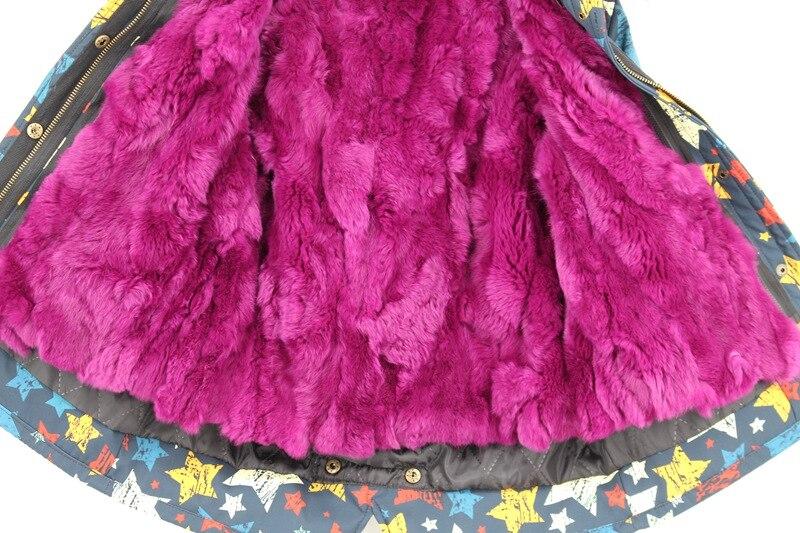 child winter real fur parkas coat (6)