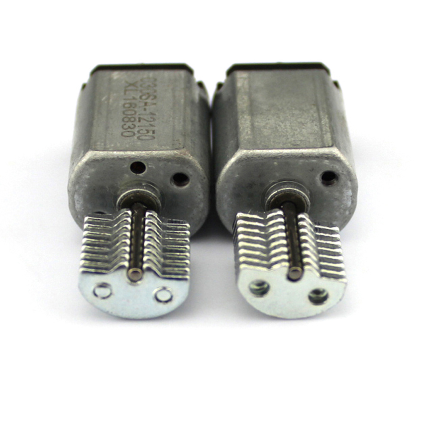 DC 3V 0.3A 2450RPM Output Speed Micro Vibrating Motor, 18.5*15*11.5mm Silver Miniature vibrating head motor